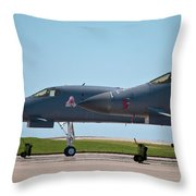 Black Widow And Old Crow Express 3 Throw Pillow
