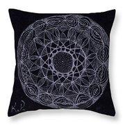 Black Zen 2 Throw Pillow