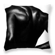 Blackback Throw Pillow