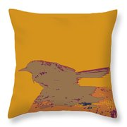 Blackbird 2 Throw Pillow