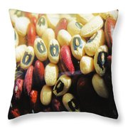 Blackeyes And Kidneys Throw Pillow