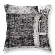 Blackfriars Chapel St Andrews Throw Pillow