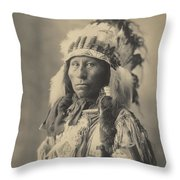 Blackheart Ogalalla Sioux Throw Pillow