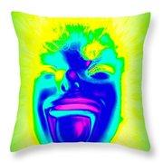 Blacklight Brooke Throw Pillow