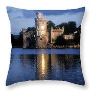 Blackrock Castle, River Lee, Near Cork Throw Pillow