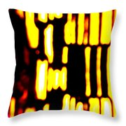 Blacksmiths Furnace 2 Throw Pillow