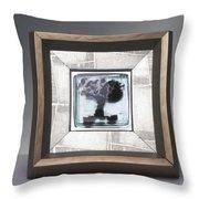 Blacktree Framed Throw Pillow
