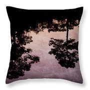 Blackwater Reflection Throw Pillow