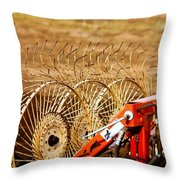 Blades Throw Pillow