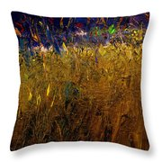 Blades Of Grass Throw Pillow