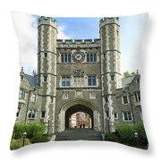 Blair Hall Princeton Throw Pillow by John Greim