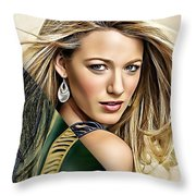 Blake Lively Collection Throw Pillow