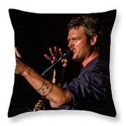 Blake Shelton Throw Pillow