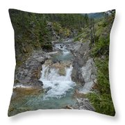 Blakiston Creek Throw Pillow
