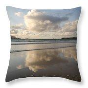 Balnakeil Beach Throw Pillow