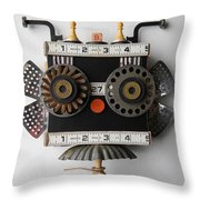 Blanc Bourdon  Throw Pillow by Jen Hardwick