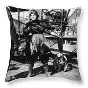 Blanche Scott (1885-1970) Throw Pillow