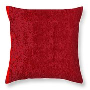 Blank Red Book Cover Throw Pillow