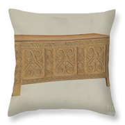 Blanket Chest Throw Pillow