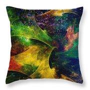 Blanket Of Stars Throw Pillow