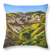 Blanketed In Flowers Throw Pillow