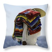 Blankets And Belts Throw Pillow