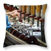 Blanton's Bourbon Throw Pillow