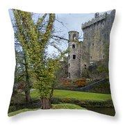 Blarney Castle 3 Throw Pillow