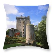 Blarney Castle, Co Cork, Ireland Throw Pillow by The Irish Image Collection
