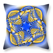 Blasphyxia Throw Pillow