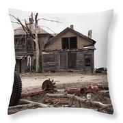 Bleak House Throw Pillow