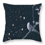 Bleak Winter Throw Pillow