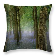 Blebells Throw Pillow