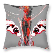 Bled For Life Throw Pillow