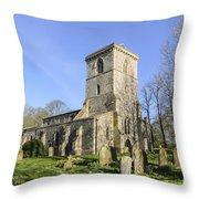 Bledlow Church Throw Pillow