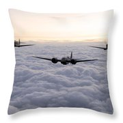 Blenheim And The Fighters Throw Pillow