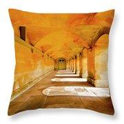 Blenheim Arches Throw Pillow