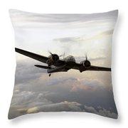 Blenheim Flight Throw Pillow