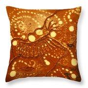 Bless - Tile Throw Pillow