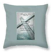 Blessed 33 Throw Pillow