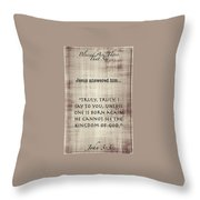 Blessed 87 Throw Pillow