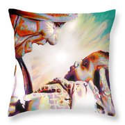 Blessed Mother Teresa Throw Pillow