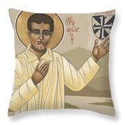 Blessed Pier Giorgio Frassati 197 Throw Pillow