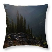 Blessed Place Throw Pillow
