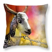 Blessings Be Upon You Throw Pillow