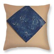 Bleu #2 Throw Pillow