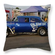 Blew By You Throw Pillow