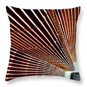 Blind Shadows Abstract I I Throw Pillow