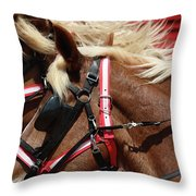 Blinders On Throw Pillow