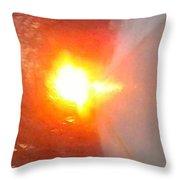 Blinding Iowa Sunrise Throw Pillow